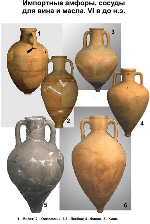 Древнегреческая посуда 5 го века до н э с острова хиос