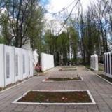 Братское кладбище г. Вязьмы, где похоронен Г. Б. Гридов