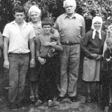 Павло Глазовий з колегами студентами (п'ятий зліва) 1950 рік