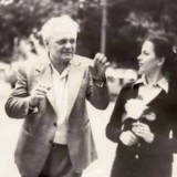 Творчий дует: Неоніла Крюкова і Павло Глазовий