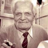 Павло Глазовий під час творчої роботи 27 грудня 2000 року