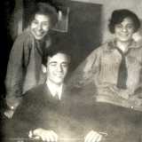 Выдающийся физик Лев Ландау и сёстры Каннегисер - Евгения и Нина