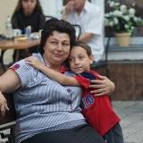 Ирина Гудым  с внуком