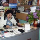 Ирина Гудым на рабочем месте...