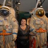 Ирина Гудым в Центре подготовки космонавтов. 2009 г.