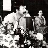 Творчий вечiр в Дмитра Кремiня обласнiй бiблiотецi. 1993 рiк