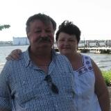 Дмитро Кремiнь з дружиною Ольгою 2013 рiк