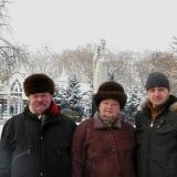 Подружжя Кременiв на вулиці Радянській в Миколаєві