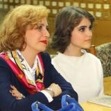 Лиза Безушко с мамой