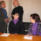 Николаевские поэты Л.Матвеева, Л.Чижова, В.Бойченко. 2010 г.