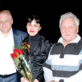 Л.Матвеева, В.Христенко и В.Качурин. 2011 г.