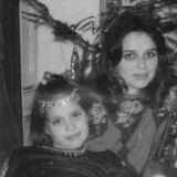 Л.Матвеева с дочерью Анной. 1996 г.