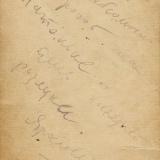 автограф Марка Лисянский к Анастасии Семёновой