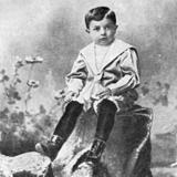 Будущий поэт в 4 года.  Одесса 1899 г.