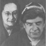 Лидия Багрицкая (Суок) и Эдуард Багрицкий. Конец 1930-х годов