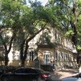 Дом в Одессе по ул. Базарной  д. 40 где в 1895 г. родился Эдуард Багрицкий