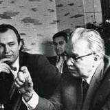 С Леонидом Леоновым