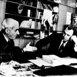 Валерий Ганичев и Константин Симонов