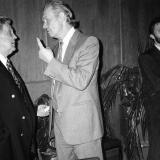 В.Н. Ганичев с художником И. Глазуновым