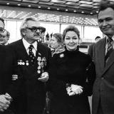 С Сергеем Бондарчуком и Ириной Скобцевой