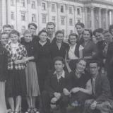 С друзьями по Николаевскому обкому комсомола. Николаев 1957 г.