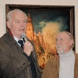 На фестивале Бородинская осень с художником С.М. Харламовым