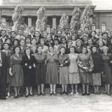 С однокурсниками по Киевскому государственному университету им. Т.Г. Шевченко 1956 г.