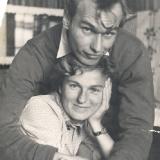С супругой Светланой. Только родилась дочь Марина… г. Николаев 1959 г.