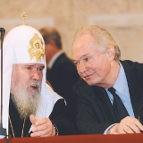 Со Святейшим Патриархом Московским и всея Руси Алексием на Всемирном Русском Народном Соборе