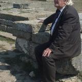 Н.А. Троянов в Ольвии 2003 г.