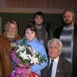 Н. А. Троянов с семьей сына