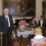 Н.А. Троянов в Пушкинском клубе г. Николаева. 2010 г.
