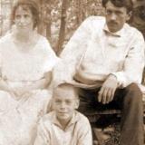 Клеопатра Харлампиевна Платонова ,Леонид Гаврилович Платонов и Леонид Вышеславский 1925 г. Харьков