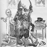 Карикатура на Петра Исаевича Вейнберга