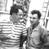 Яков Тублин и Вячеслав Качурин 1965 год.