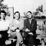 Николаевские поэты В. Качурин, Я. Тублин, С. Крыжановский 1965 год