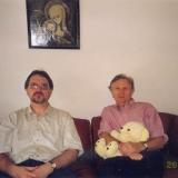 С сыном Андреем, 1999 г.
