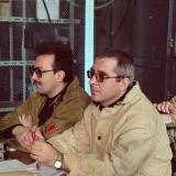 На съемках «Дневного Дозора». 2003-й год