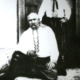 Н. Аркас с внуком Николаем