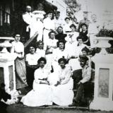 Семейство Н. Аркаса в Старобогдановском имении 1905 г