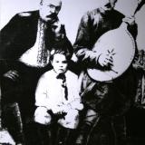 Н.Н. Аркас со слепым кобзарём Т. Пархоменко и его мальчиком-поводырем фото начала 1900 г
