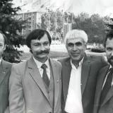 В.Пучков, Д.Креминь, Э.Январев, В.Качурин.70-е годы