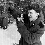 Александр Кремко в ракетной части в Белорусском городе Поставы. 1964 год. Фото из архива В. Бабича
