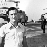В.Бабич. ТАКР «Новороссийск». Средиземное море, май 1983 года