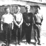 Друзья- поэты В.Качурин, С. Крыжановский, Э. Январёв, Я. Тублин