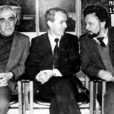 Сергей Крыжановский с Эмилем Январёвым и Вячеславом Качуриным. Москва 1971 г.