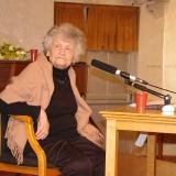 Творческий вечер Сары Погреб в Тель-Авиве, посвящённый её 90-летию - 02.01.11 2