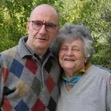 Сара Погреб с сыном Борисом