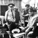 22 червня 1971 року. Б. Мозолевський - у глибині кадру з цигаркою