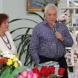 Галина Крикун и поэт Вячеслав Качурин 2